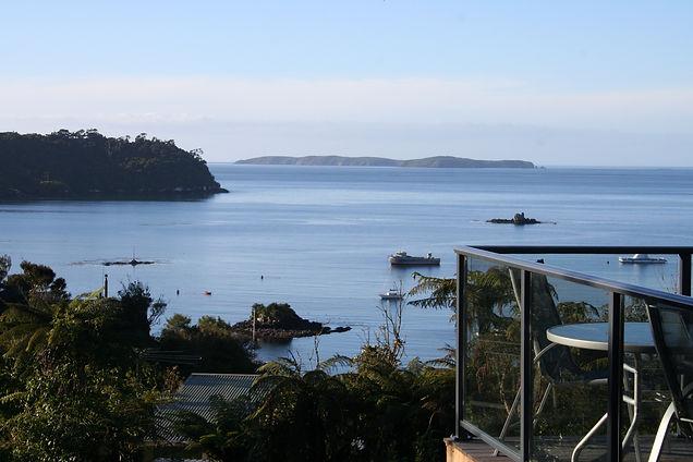 View from Kaka Ridge Lodge