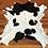 Thumbnail: VIZELLO Silken Baby Calf ® - Black and White