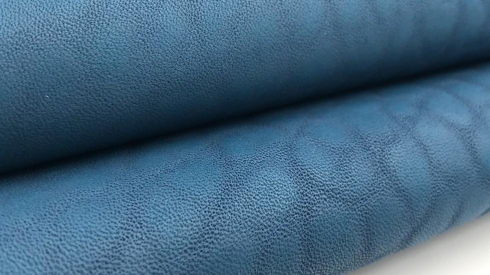 Merino Leather - Takamatua Blue