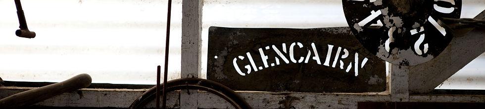 Cairn Station stencil