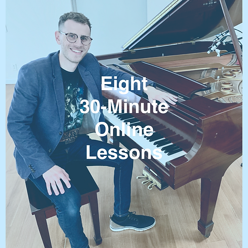 Eight 30-Minute Online Lessons