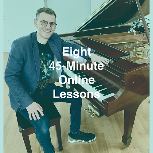 Eight 45-Minute Online Lessons