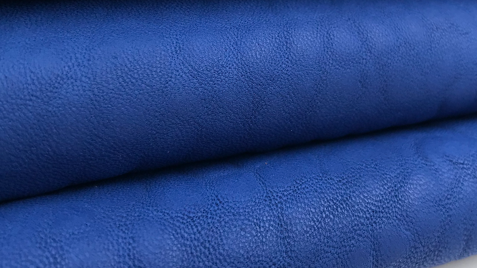 Merino Leather - Ribbon Blue