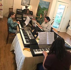 Piano Lessons in Small Groups - Diane Engle Piano Studio