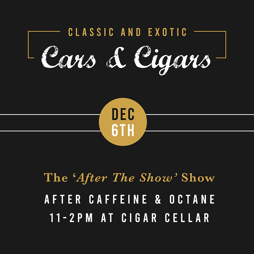 Cars and Cigars Car Show & Jazz Brunch