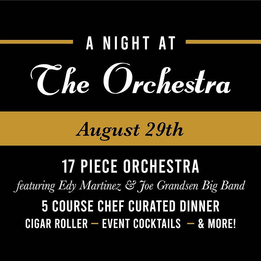 A Night at the Orchestra: 17-piece ft. Edy Martinez & Joe Grandsen