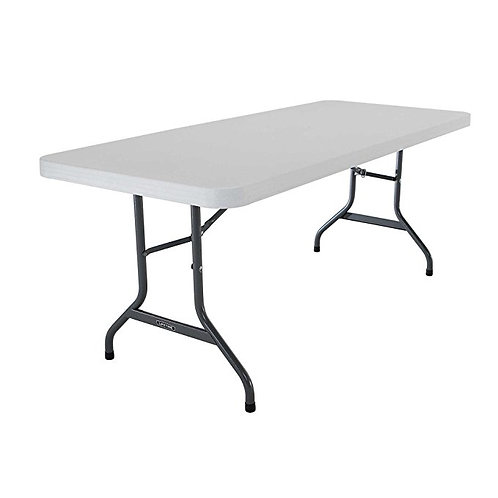 6ft Rectangular Plastic Table