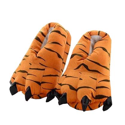 Pantuflas Garras Tigre o Rosado fuerte