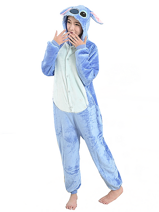 Pijama Koala Azul con botones