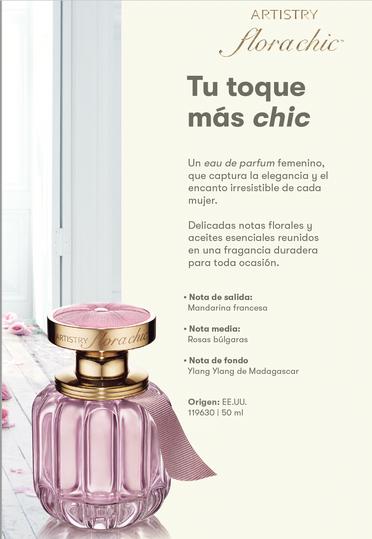 Perfume femenino.