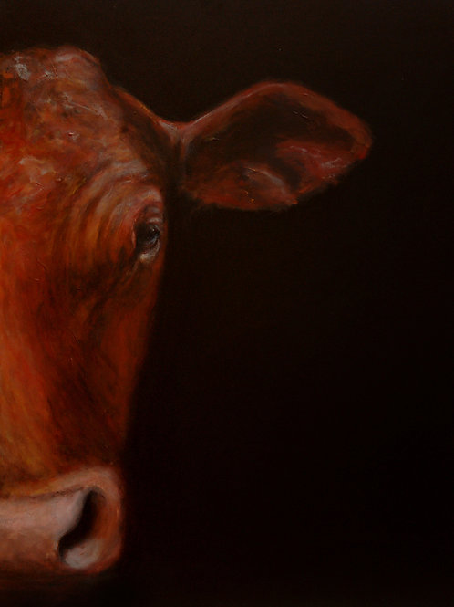 Red Cow Print