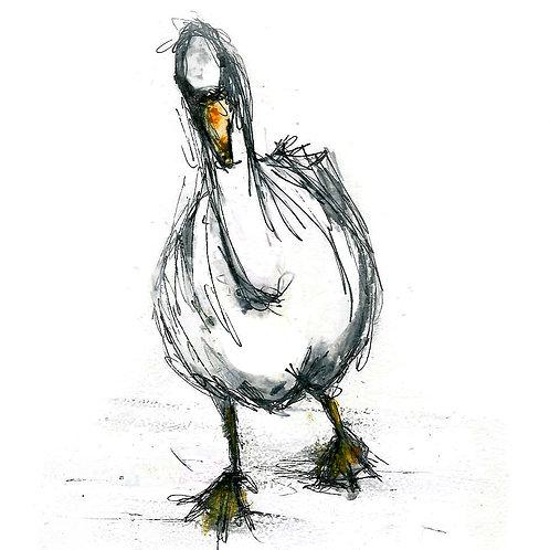 Waddling Goose