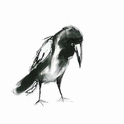 5 Crow Cards greetings cards