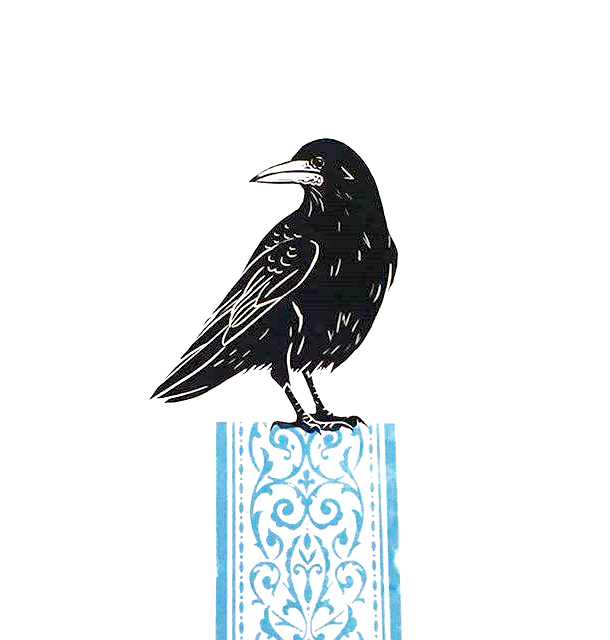 rook on a plinth