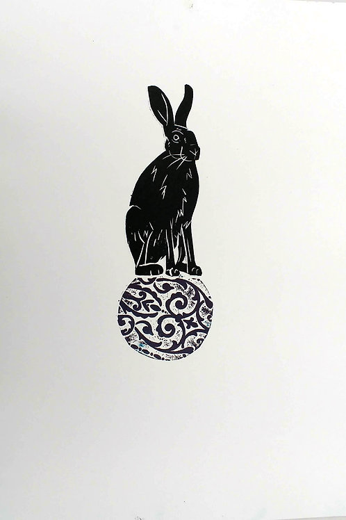 Hare on a small ball