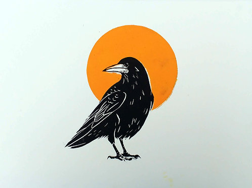 Rook with a Yellow Sun