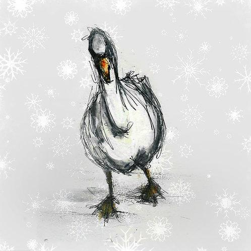 Waddling Goose Christmas Cards