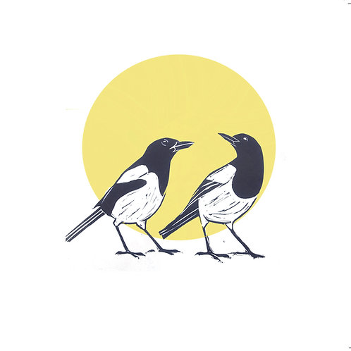 Magpies Two for Joy
