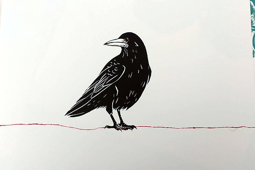 Rook and a Red line