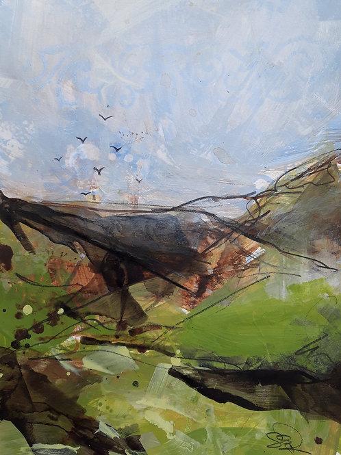 After the Rain Original Painting