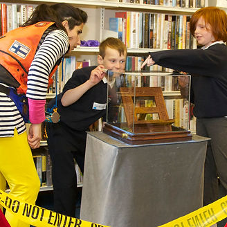 The Library is a Frozen Charlotte production designed especially for school audiences.