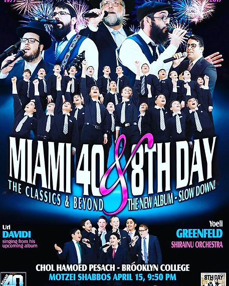 miami and uri davidi concert