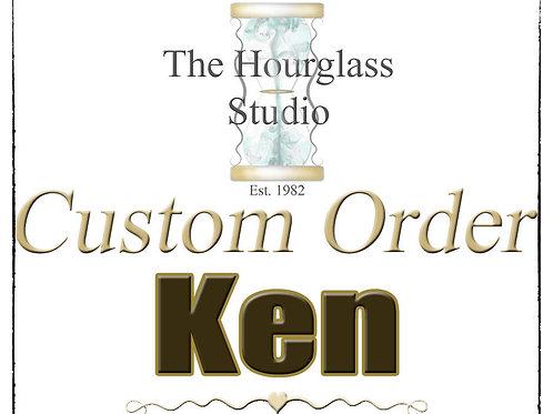 "Ken "" Barrel Char Wood ""  Personal Custom Listing"