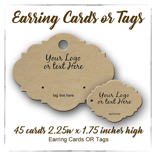 copy of Earring Card, Custom Earring Cards, Earring Holders, Jewelry Display 45