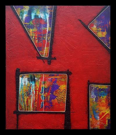 Mixed Media, Fine Art, Painting