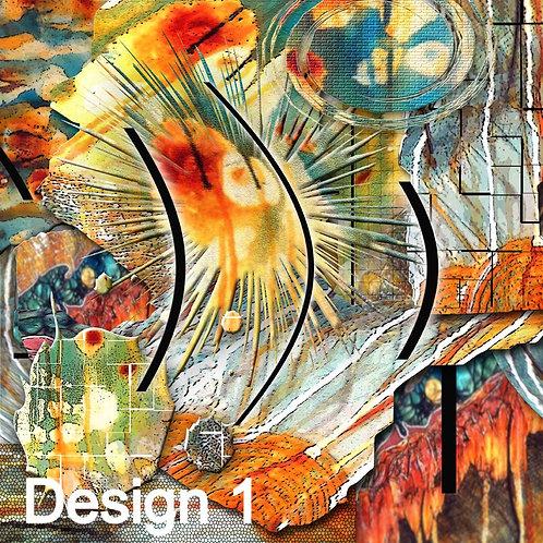 Abstract Art, Art Illustrations, Computerized Art, Vibrant Color