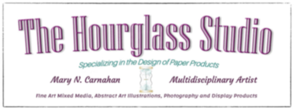 The Hourglass Studio Logo, Abstract Art Prints