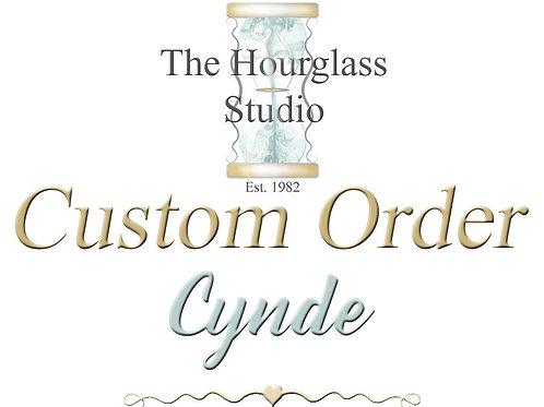 Custom order for Cynde