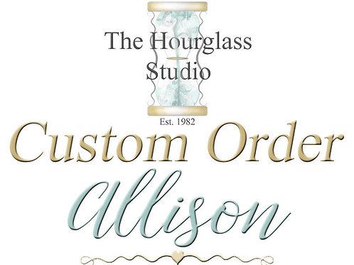Allison Personal Custom Listing
