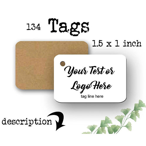 Tags, Price Tags, Jewelry Tags