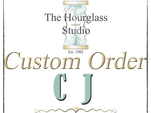 Personalized Custom Order for C J