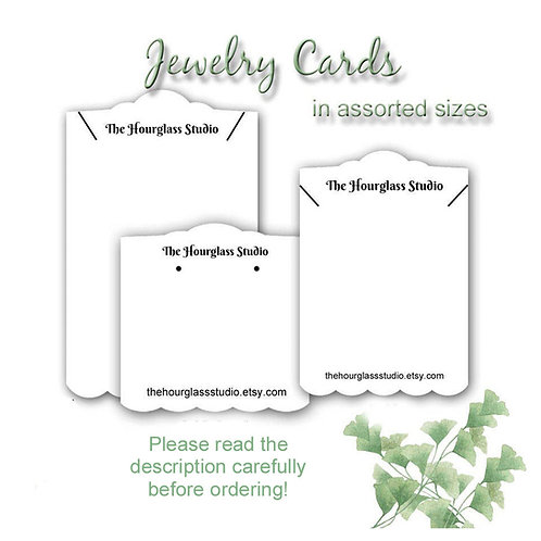 Earring Cards, Jewelry Display Products