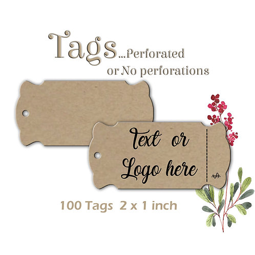 Perforated Tag