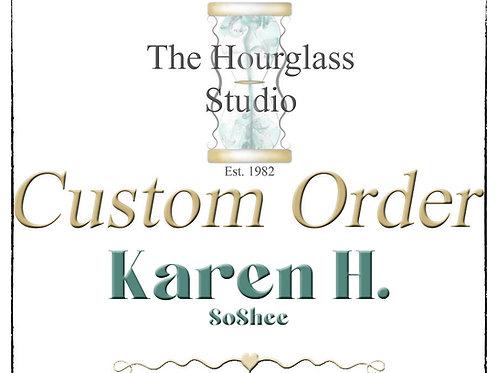 Personal Custom Listing for Karen H. SoShee