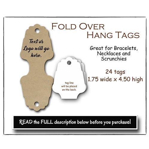 Fold Over Hang Tag