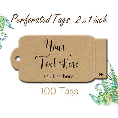 Perforated Tags