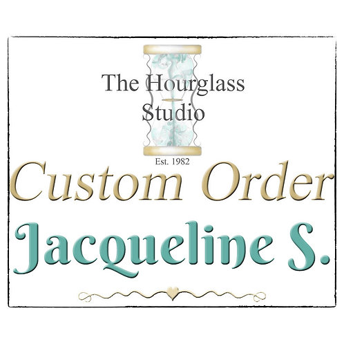 Personal Custom Listing for Jacqueline