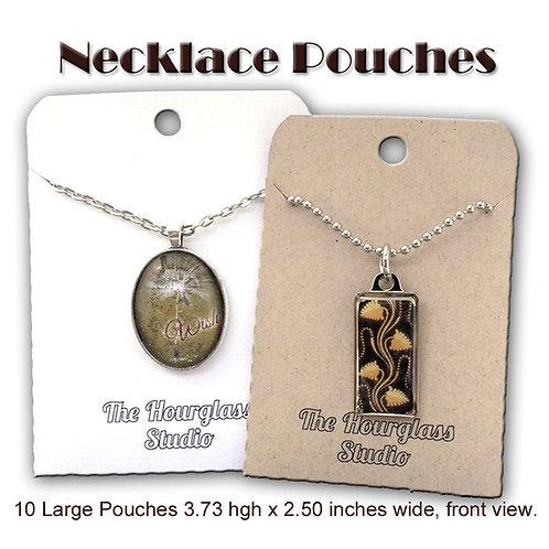 Necklace Pouch, Necklace Envelope, Necklace Hol