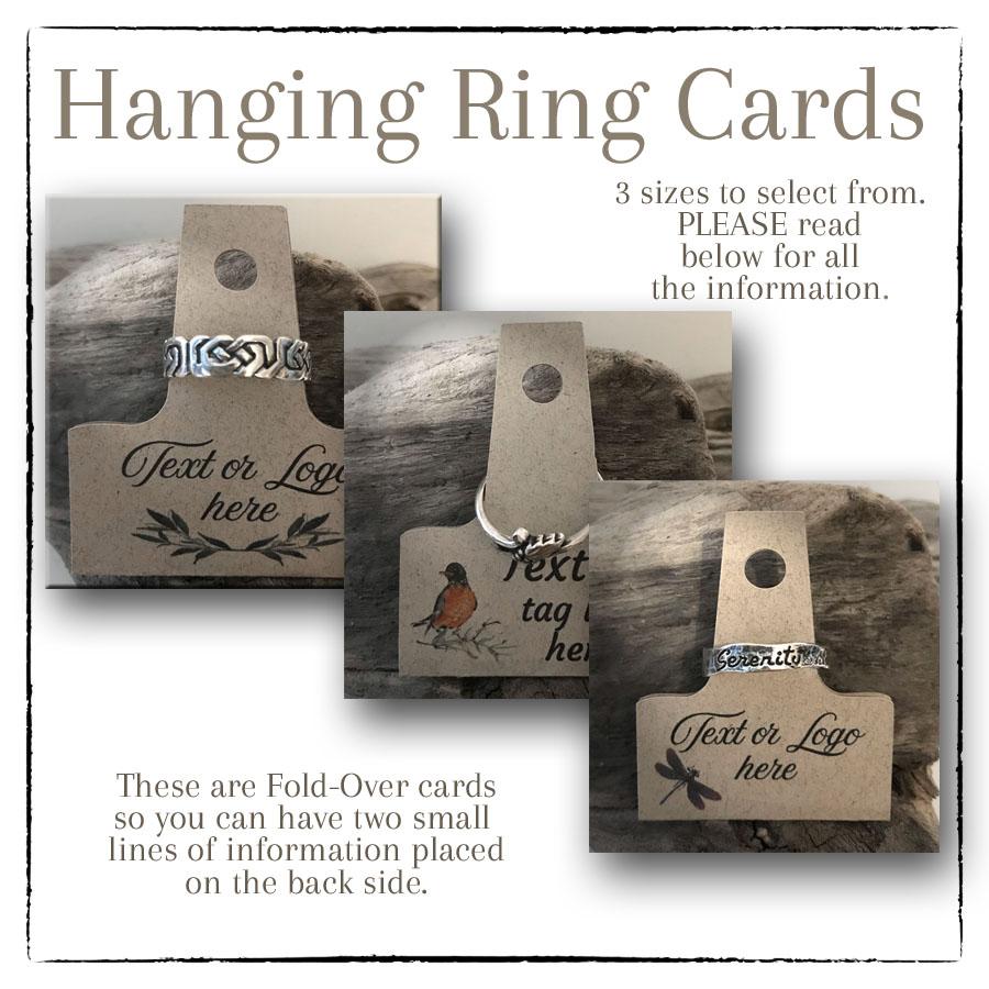 Ring Card, FOld Over Custom Cards