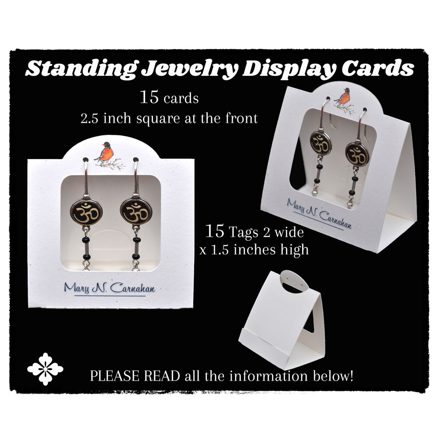Standing Tend Card with Front Opening