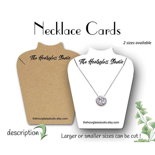 Necklace Cards, Jewelry Display Products, Necklace Holder