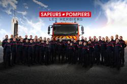 Photo de groupe Sapeurs Pompiers Les Her