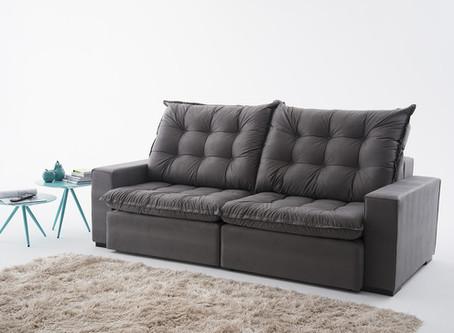 Qual o sofá ideal para salas de TV?