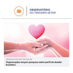 OBSERVATÓRIO DO TERCEIRO SETOR