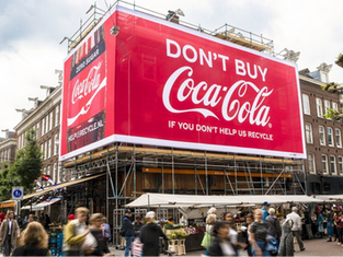 Don't buy Coca-Cola if you don't help us recycle
