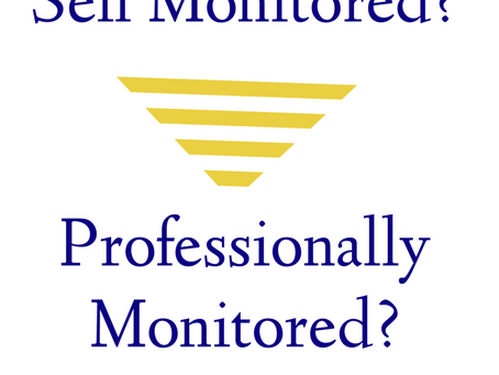 Should your home be self-monitored or professionally monitored? What's the difference?